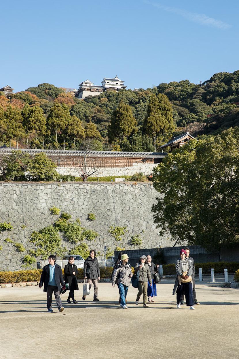 市民の憩いの場「城山公園」からスタート